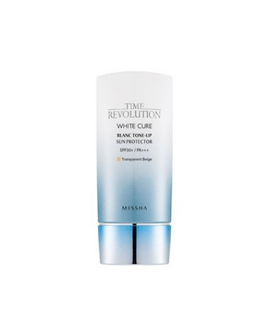 Missha Time Revolution White Cure Blanc Tone Up Sun Protector Miss Eco